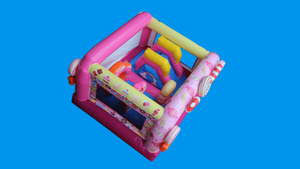 Candy Wonderland Theme Jumping Castle, Sydney Jumping Castle Hire - Top
