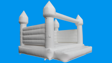 Load image into Gallery viewer, White Jumping Castle - Large