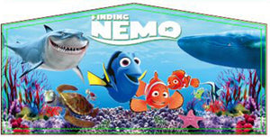 Finding Nemo Theme Jumping Castle Banner - Sydney Jumping Castle Hire