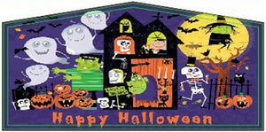 Halloween Theme Jumping Castle Banner - Sydney Jumping Castle Hire