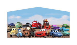 Disney's Cars Theme Jumping Castle Banner - Sydney Jumping Castle Hire