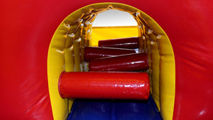 Modular Combo Internal Slide Jumping Castle Hire Sydney - Internal View