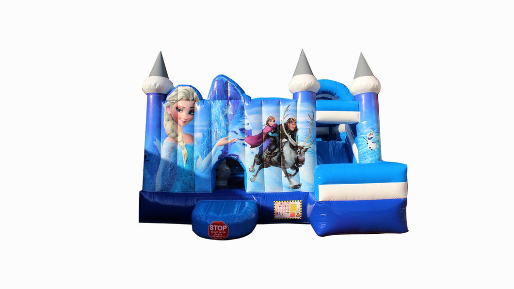 Frozen Jumping Castle All-in-One