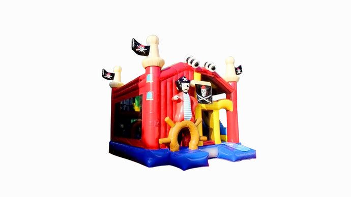 Pirate Theme Jumping Castle, Hire Sydney Australia - Main View