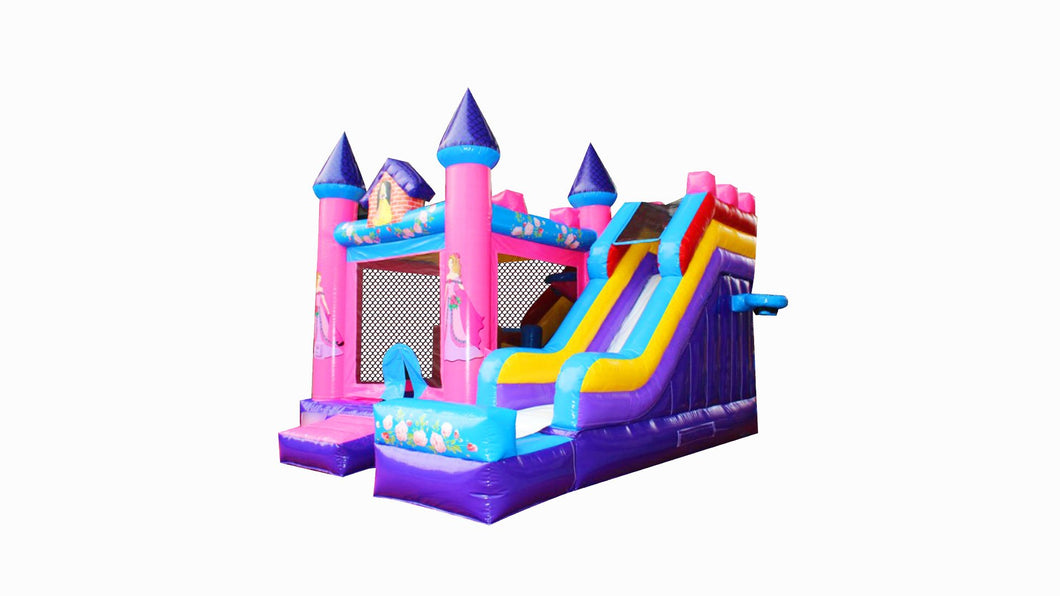 Princess Jumping Castle Combo