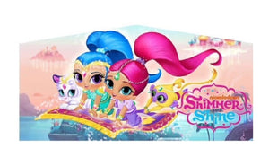 Nickelodeon Shimmer and Shine Jumping Castle Banner
