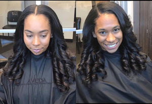 Girls Loveee Curls !!! These ladies are wearing 100% Remy Pure Natural Wavy Indian Extensions!