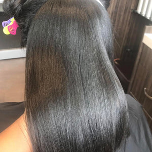 When extensions are are truly in their Purest, Raw form, they will blend perfectly with your own hair.