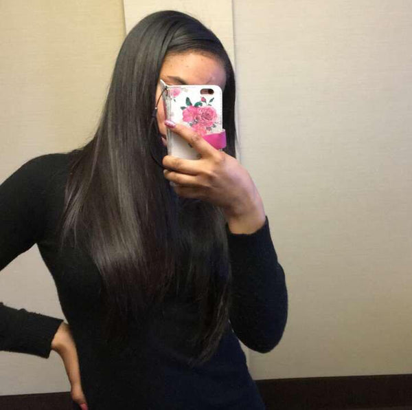 Silky Straight Hair Extensions in Ypsilanti Mi