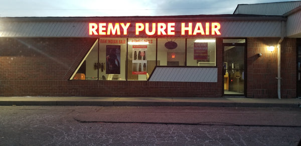 RAW Indian Hair Factory direct store on Southfield road