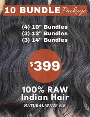 "10 Bundle Package (1 Kilo) - 10""+12""+14"" - 40200"