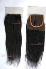 4X4 Lace Closures - Natural Straight
