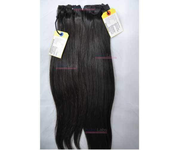Remy Hair Machine Wefts - Natural Straight