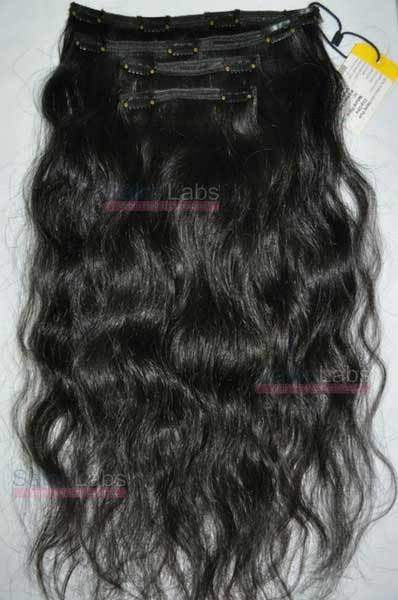 Natural Wavy Clip-in Hair Extensions