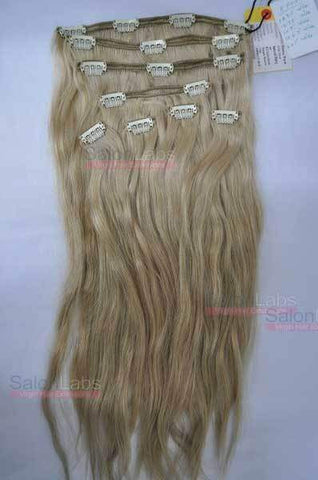 Pure Wavy Clip-in SET 18 #18 Golden Blonde