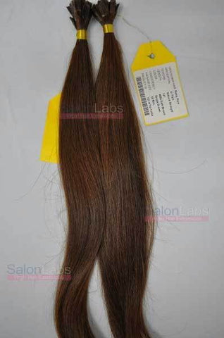U Tip Hair Extensions - Dark Brown #004