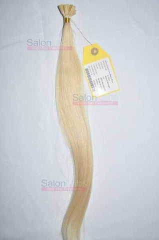 U Tip Hair Extensions - Platinum Blonde #613
