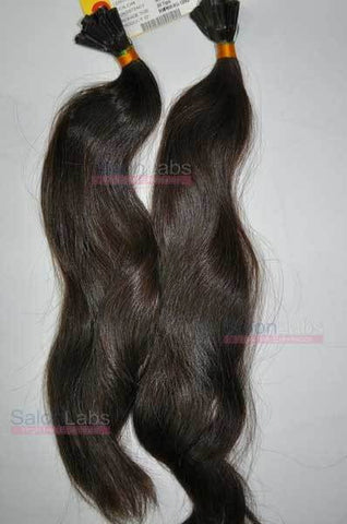 U tip Hair Extensions - Darkest Brown #2