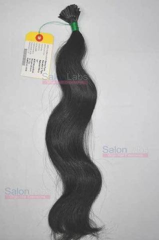 U tip Hair Extensions - Natural Black #1B
