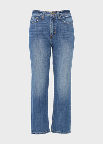 Super High Rise Relaxed Crop Straight Manny Jeans