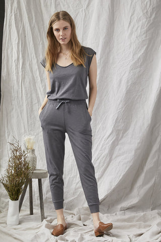 Jenna Jumpsuit in Storm Grey