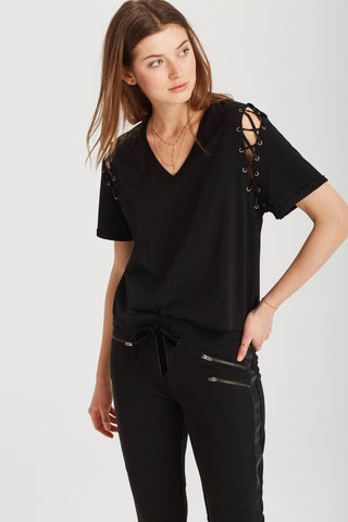 Martine Top in Deep Black
