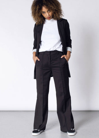 WF Wide Leg Pant in Black
