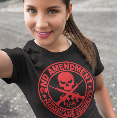 2nd Amendment Shirt for Women