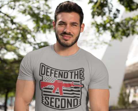 Defend Your 2nd Amendment Rights with this Shirt!