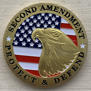 2A My Gun Permit Gold Coin