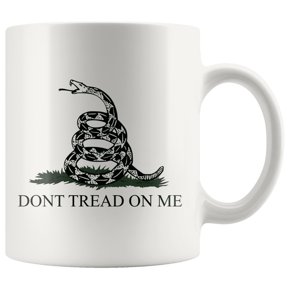 Don't Tread on Me Coffee Mug
