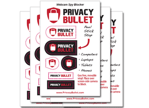 Privacy Bullet Webcam Spy Blockers