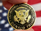 President Donald Trump Collectible Coin