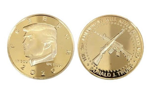 Trump 2nd Amendment Gold Coin