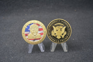 "Gold Trump 2024 ""The Revenge Tour"" Coin"