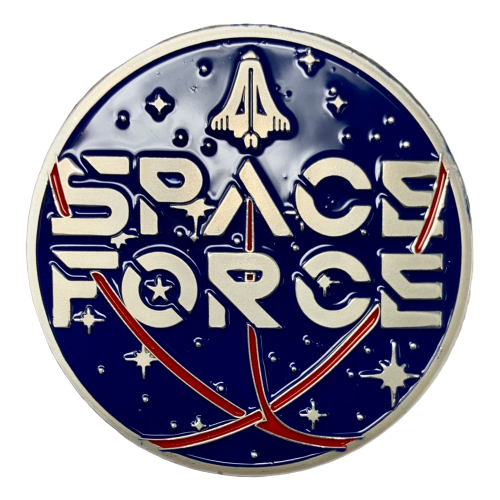 Space Force Silver Coin