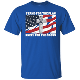 Stand For The Flag, Kneel For The Cross T-Shirt