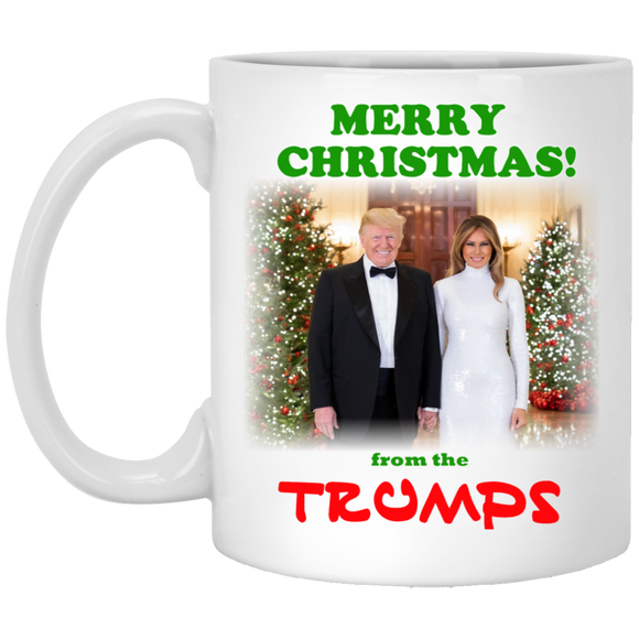 Trump Merry Christmas 2019 Commemorative Coffee Mug