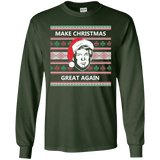 Make Christmas Great Again Trump Long Sleeve T-Shirt