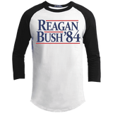 Reagan Bush '84 Presidential Election Retro Long Sleeve Tee