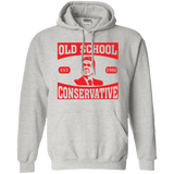 President Ronald Reagan Old School Conservative Hooded Sweatshirt (Hoodie)
