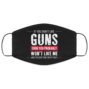 Hilarious Pro Gun Reusable Daily Face Mask