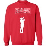 Trump Make Golf Great Again Crewneck Pullover Sweatshirt