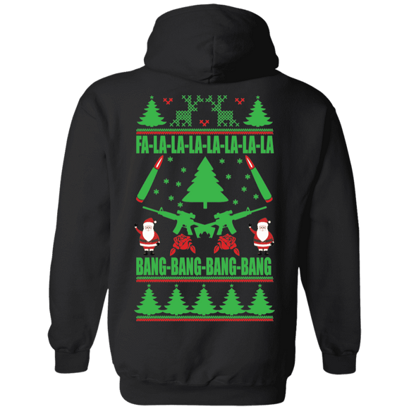 Christmas Guns Alternate Hoodie