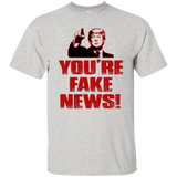 You're FAKE News Fun Pro-Trump Shirt