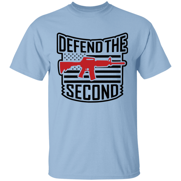 Defend the Second Amendment  - 5.3 oz. T-Shirt