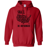 Shall Not Be infringed Alternate Hoodie