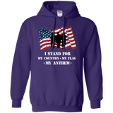 I Stand For The Anthem Patriotic Hoodie