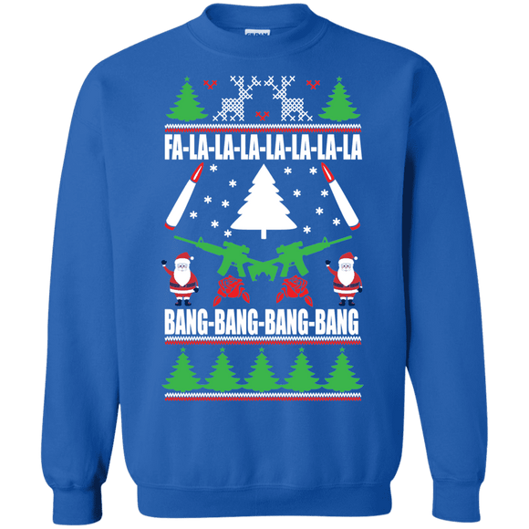 Christmas Guns Sweatshirt