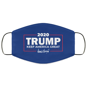 Trump 2020 Keep America Great Reusable Daily Face Mask